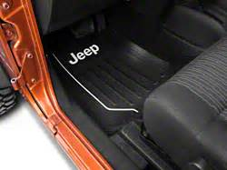 Auto Coaster Jeep Logo by Alterum Wrangler Auto Coasters W Jeep Logo J103449 87 18