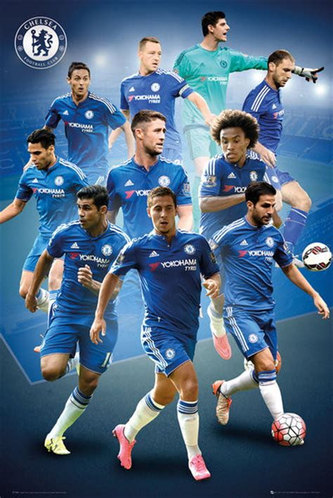 chelsea fc players chelsea fc players 15 16 poster sold at abposters com