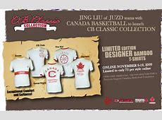 Canada Basketball Launches CB Classic Collection by JUZD ... Idea 3g Logo