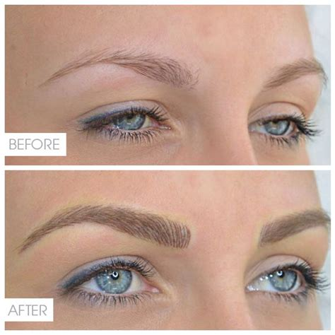 permanent eyebrow tattoo 25 best ideas about tattooed eyebrows on