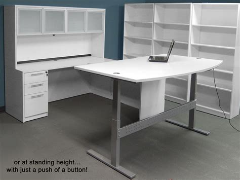 White U Shaped Desk White U Shaped Desk White U Shaped Workstation W Hutch White U Shaped Workstation W Hutch