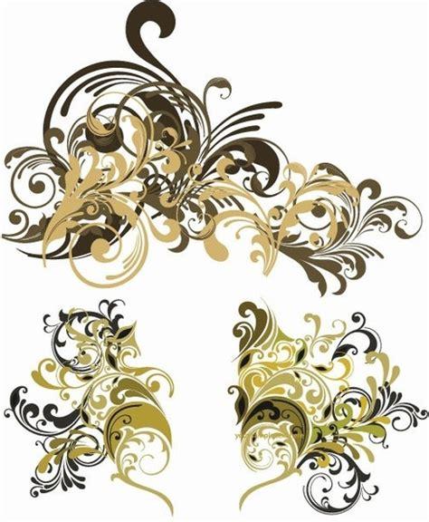 vintage floral design elements vector free download vector vintage floral design elements free vector in