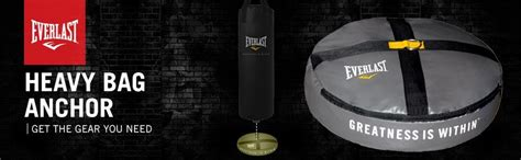 Punch Bag Floor Anchor by Everlast End Heavy Bag Anchor