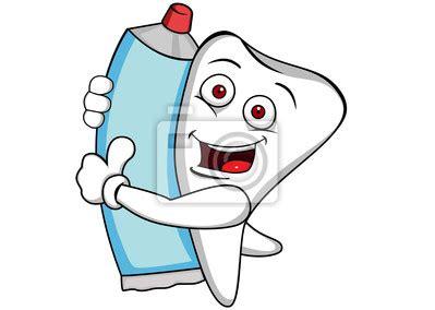 imagenes animadas de odontologia vinilo diente de dibujos animados odontolog 237 a vinilo