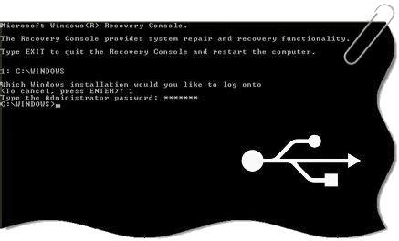 console ripristino xp come avviare la console di ripristino di xp da usb forux