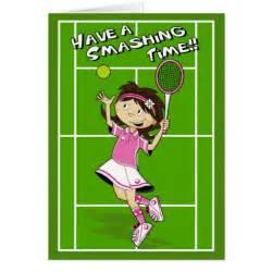 tennis birthday card zazzle