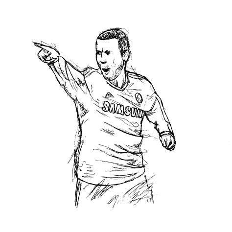 Sketches To Do by Chelsea Player Sketches Jeff Matthews