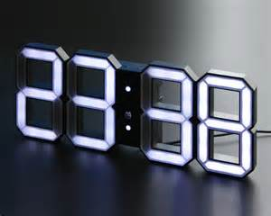 Buy Digital Clock by Index Of Images Minimalistic Digital Led Clock