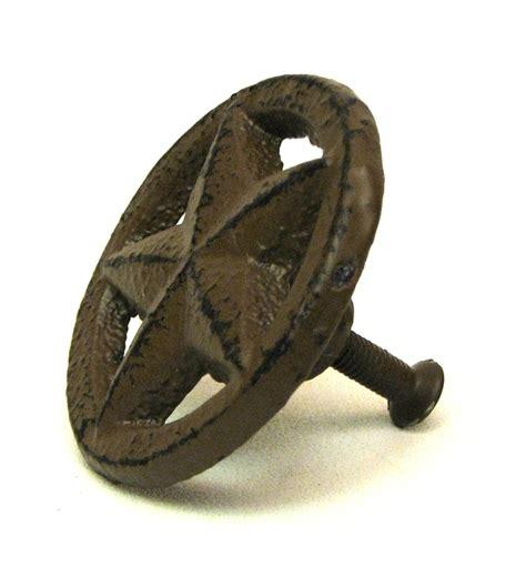 Cast Iron Drawer Handles by Circletexas Cast Iron Drawer Pull Knob Western Decor