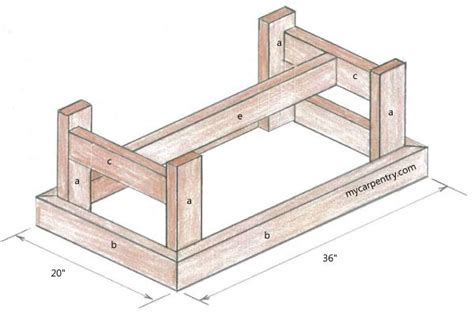 coffee table construction plans small coffee table plans diywoodtableplans