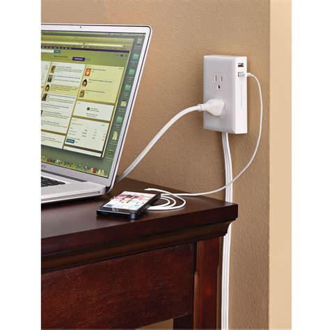the wall mounted outlet extender hammacher schlemmer