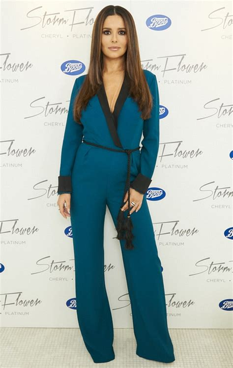 Cheryl Overall Dress by Cheryl Hides Bump In Plunging Blue Jumpsuit