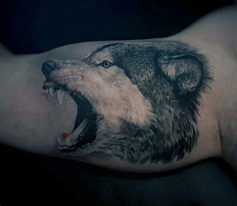 animal tattoo bicep 100 animal tattoos for men cool living creature design ideas