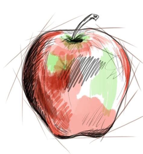 how to doodle in photoshop tutorial photoshop tutorial how to draw an apple artisul