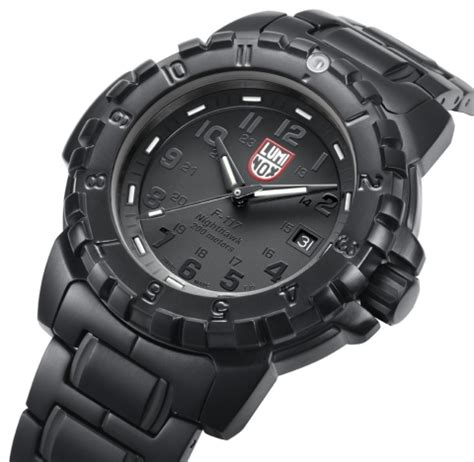 Jam Tangan Luminox F 117 luminox blackout evo f 117 nighthawk stealth world