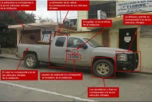 camionetas marina armada de mexico aseguran en edomex camioneta clonada de marina tlalpan info