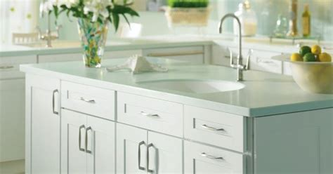 maple white kitchen island by thomasville cabientry