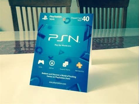 How To Use A Gift Card On Playstation Store - how to use a psn gift card 2015 youtube