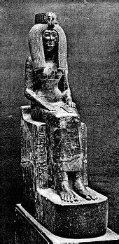 Iside, madre di Thutmose III (JE 37417) - Wikipedia