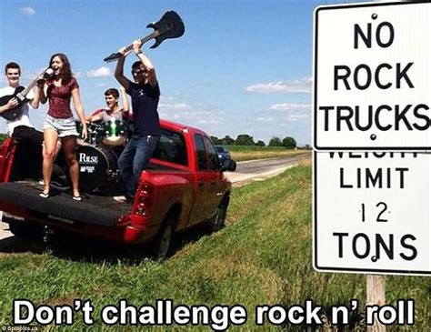 Memes Rock N Roll - funny memes of the challenge accepted social media trend
