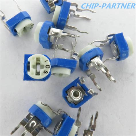 10k variable resistor 103 20pcs lot rm065 10k ohm trimmer potentiometer rm 065 103 trimmer resistors variable adjustable