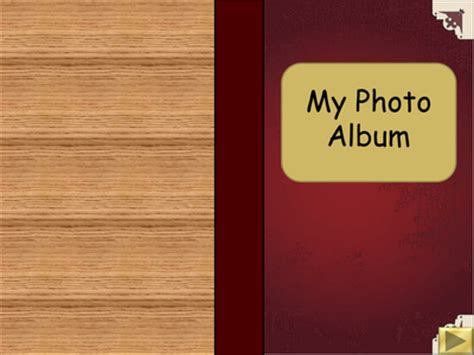 powerpoint templates photo album interactive powerpoint book templates by bevevans22 uk