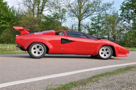 1981 Lamborghini Countach 1981 Lamborghini Countach Lp400s Series 2 Low