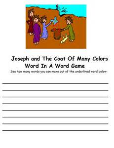 joseph and the coat of many colors joseph and the coat of many colors sunday school lesson