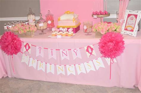 Baby Shower Princess Theme Ideas by Royal Princess Baby Shower Ideas Photo 3 Of 12