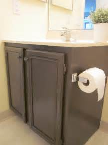 Painting Bathroom Vanity Ideas by Coffee Caramel How To Paint Your Bathroom Vanity