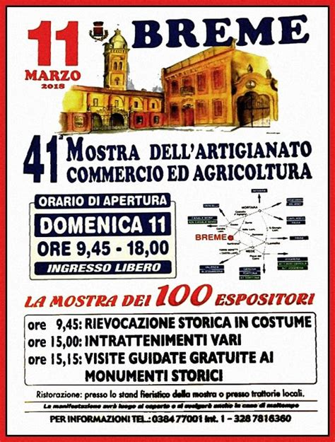di commercio agricoltura mostra dell artigianato commercio e agricoltura breme pv