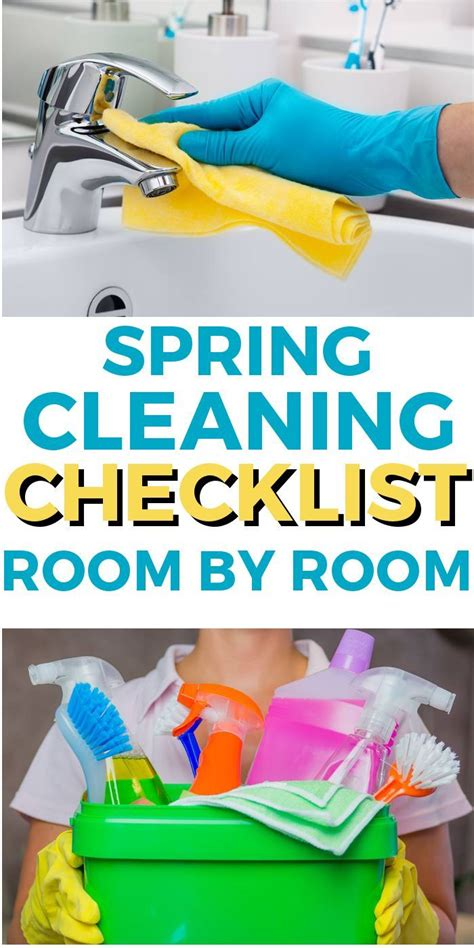 spring cleaning checklist room by room 270 best get organized images on pinterest organization