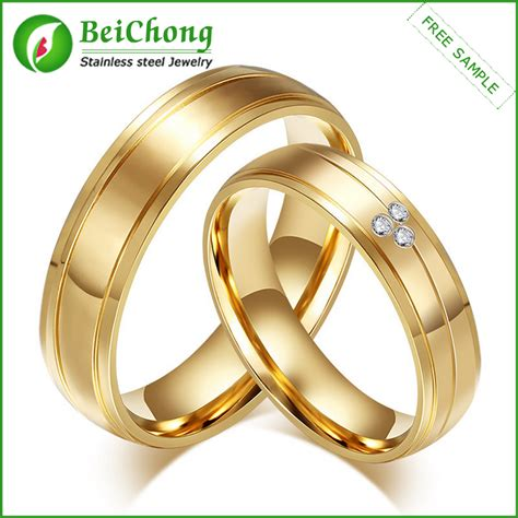 Paar Ringe Gold by 2016 New Products Gold Jewelry Gold Finger