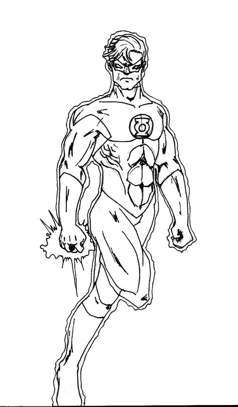 Green Lantern Symbol Coloring Pages Coloring Pages Green Lantern Coloring Page