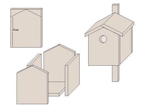Nistkasten Selber Bauen Einfach 2762 by Nistk 228 Sten Selber Bauen Mit Einfachen Holzplatten
