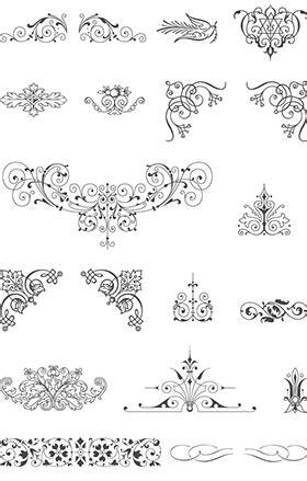 bordes descargables libre vintage vector pack 85 ornamentos del vector 20