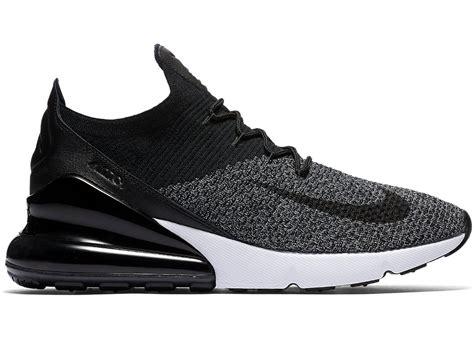 Sepatu Nike Air Max 270 air max 270 flyknit black white