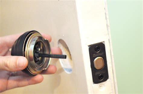 Changing Locks On Door by How To Change Your S Front Door Lock And