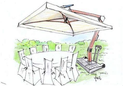 disegno giardino ombrellone da esterno un progetto tecnologico