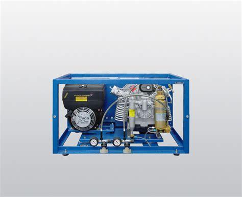 Compressor Bauer mariner diesel breathing air compressor diving ship