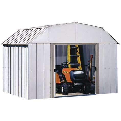 arrow dakota  ft   ft steel shed dk  home depot