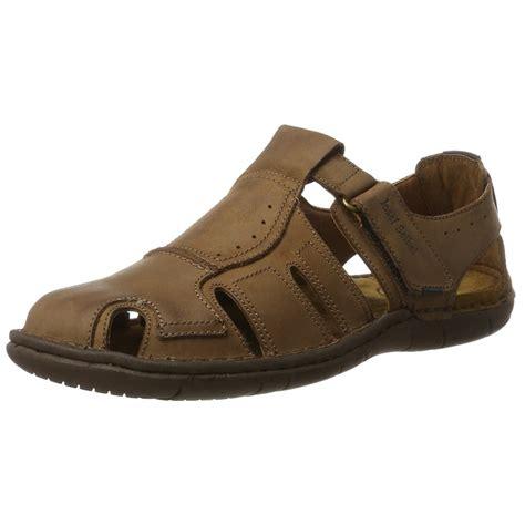 mens velcro sandals uk paul 15 brown leather mens velcro sandal