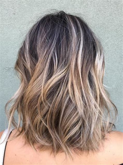 hairstyles and highlights to hide gray ideas around face this would cover the gray but very blonde for me hair