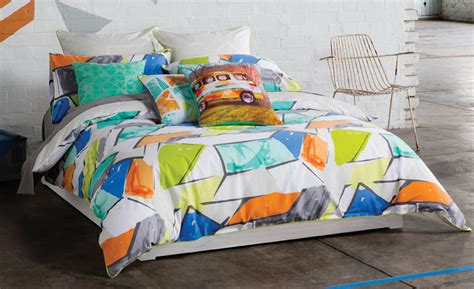 kas bed linen addy quilt cover set kas