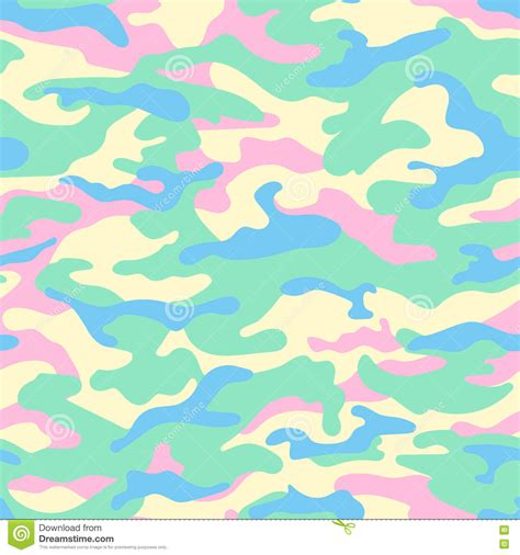 vector pattern pastel free camouflage seamless pattern pastel colors vector