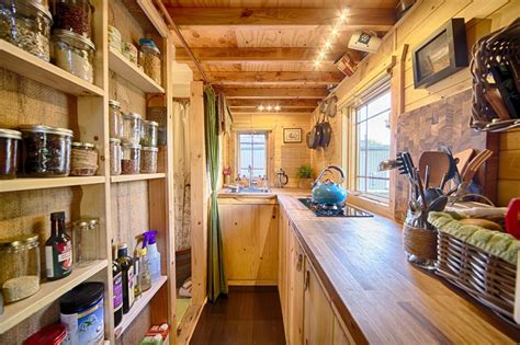 tiny home with a big kitchen live a big life in a tiny house on wheels