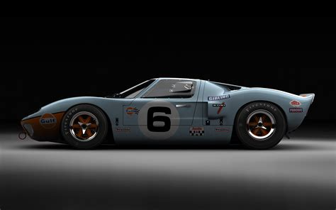 gulf gt40 ford gt40 the beauty influx