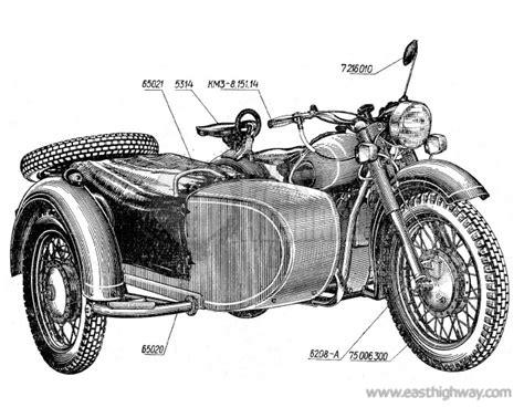 Mt 9 Motorrad by Motorrad I Ersatzteile Dnepr Mt9 East Highway