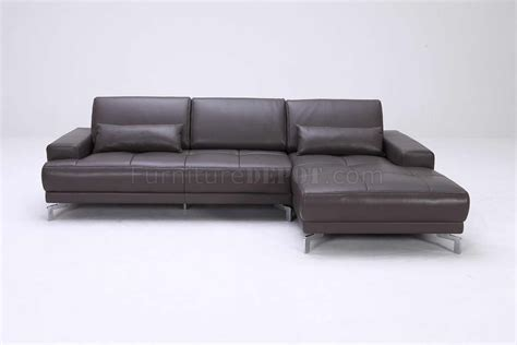 Grey Modern Sectional Sofa by Grey Leather Modern Sectional Sofa W Adjustable Back