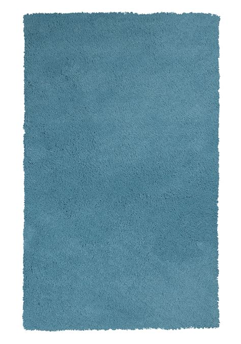 bliss rugs bliss 1577 highlighter blue rug by kas